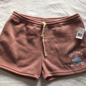 Brooklyn and Cloth Women's fleece Shorts NWT Sz L